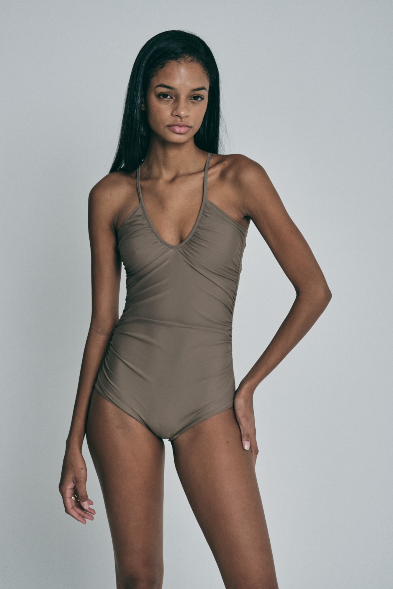 Proprio Swimsuit (Vintage brown)