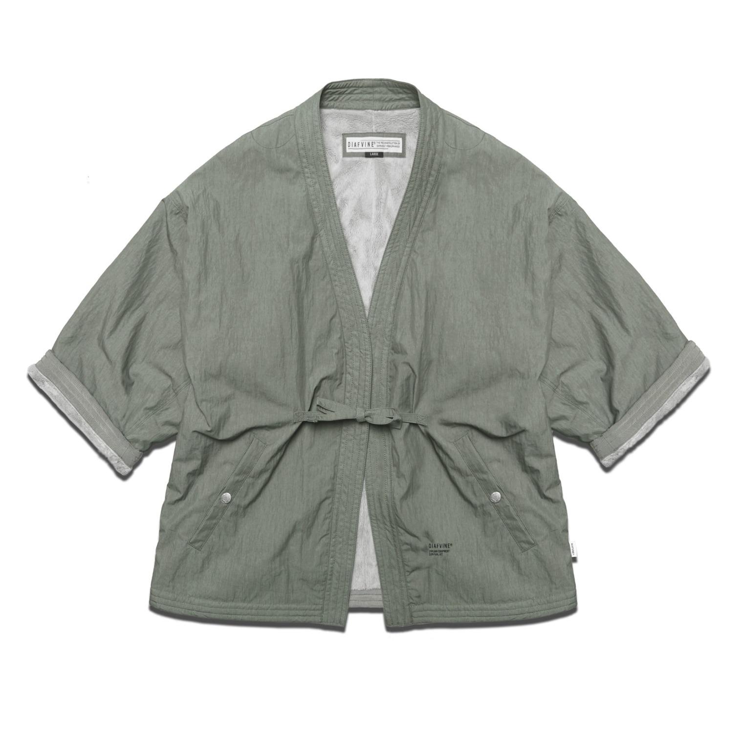 DV.LOT 647 C/N Regular Robe -Ash Khaki-