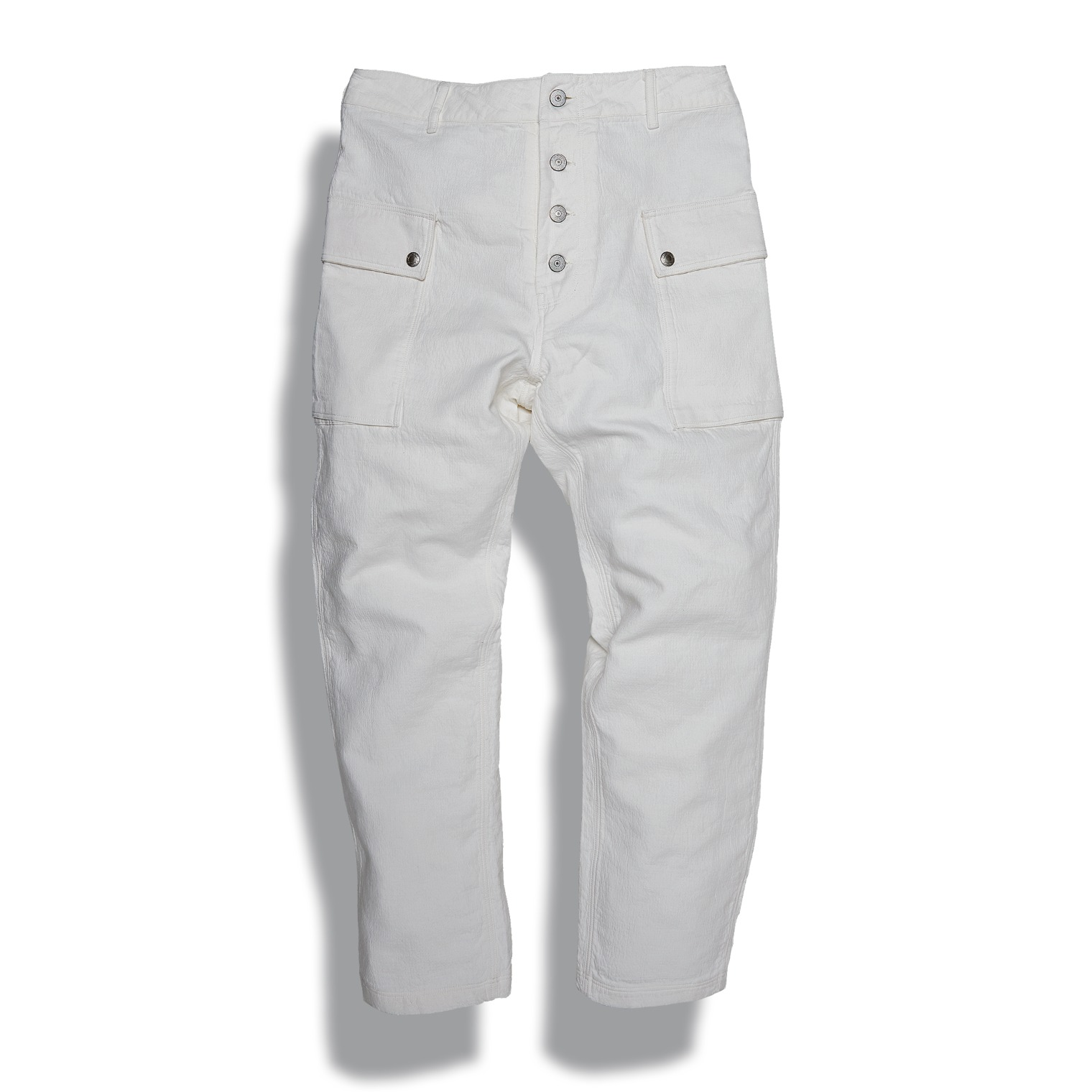 [↓35%]DV.LOT 605 Type P-44 Pants (Tapered Fit) -OFF WHITE-