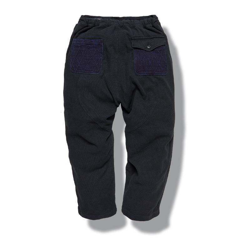 [↓40%]DV. LOT607 Double-Weave Pants (Sashiko) -BLACK-