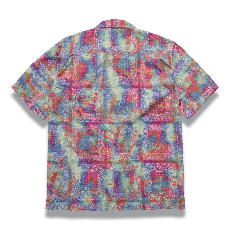 [↓45%]DV.LOT 610 Paisley Open Collar Shirts (Tie-Dye) -MULTI-