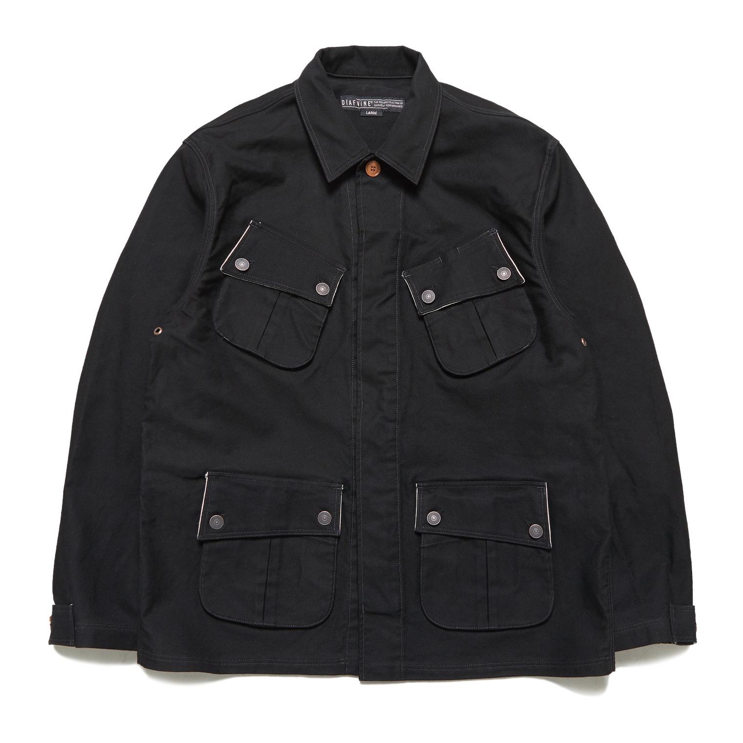 [↓40%]DV. LOT 602 Fatigue Jacket -BLACK-
