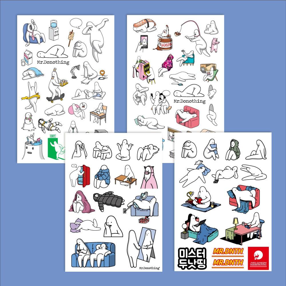 Sticker ver.1-4 [4types]
