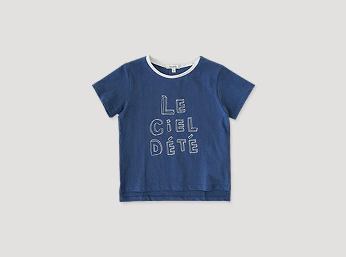 크리슈 티셔츠 - 블루
