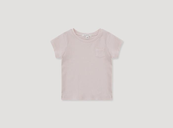 mini 세러데이 티셔츠 - 핑크