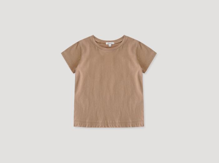홀라 티셔츠 - 베이지