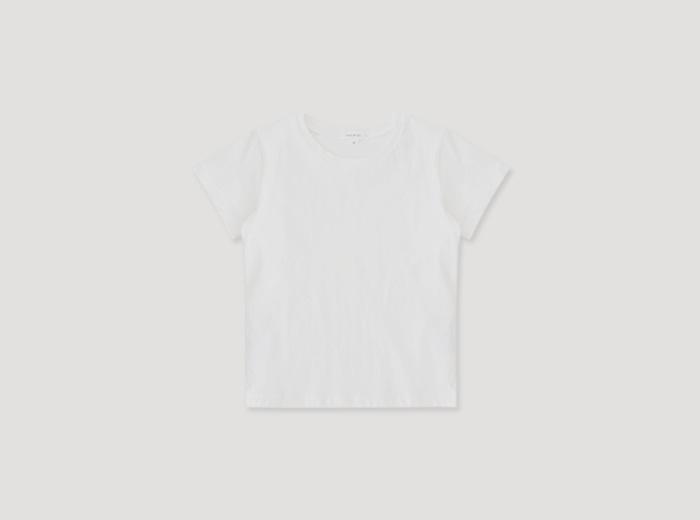 홀라 티셔츠 - 바닐라화이트