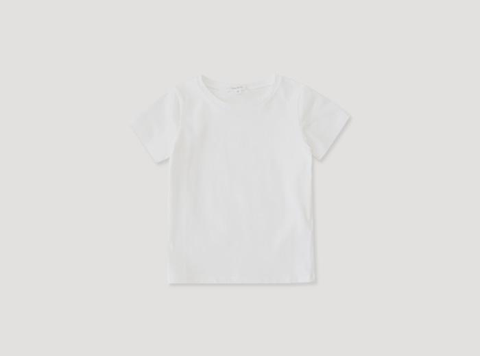 슈엘보 티셔츠 - 화이트