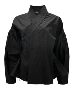 퍼프연안김씨저고리셔츠_C_black