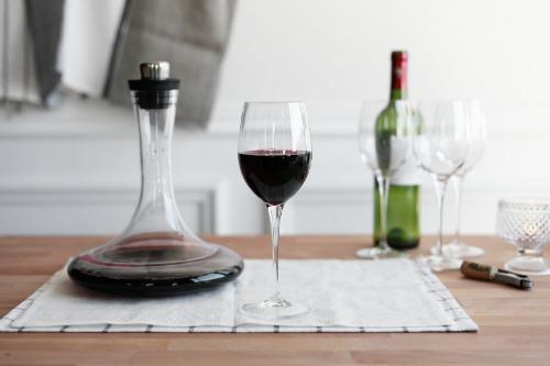 프리미엄 와인잔 - 얇고 가벼운 이탈리아산 와인글라스 2p