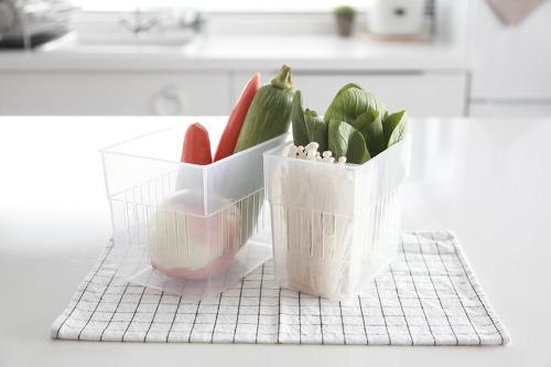 냉장고용 채소보관 스토커 채소 보관용기
