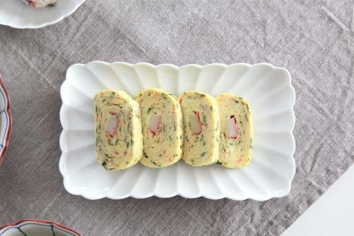 아리타 쇼비도혼텐 하쿠지 키쿠와리 시리즈 직사각 접시