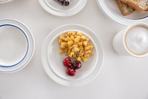 시라쿠스 정품 화이트 플레이트 빈티지 접시
