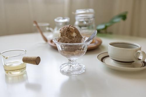로만 글라스 아이스크림 고블렛 디저트컵