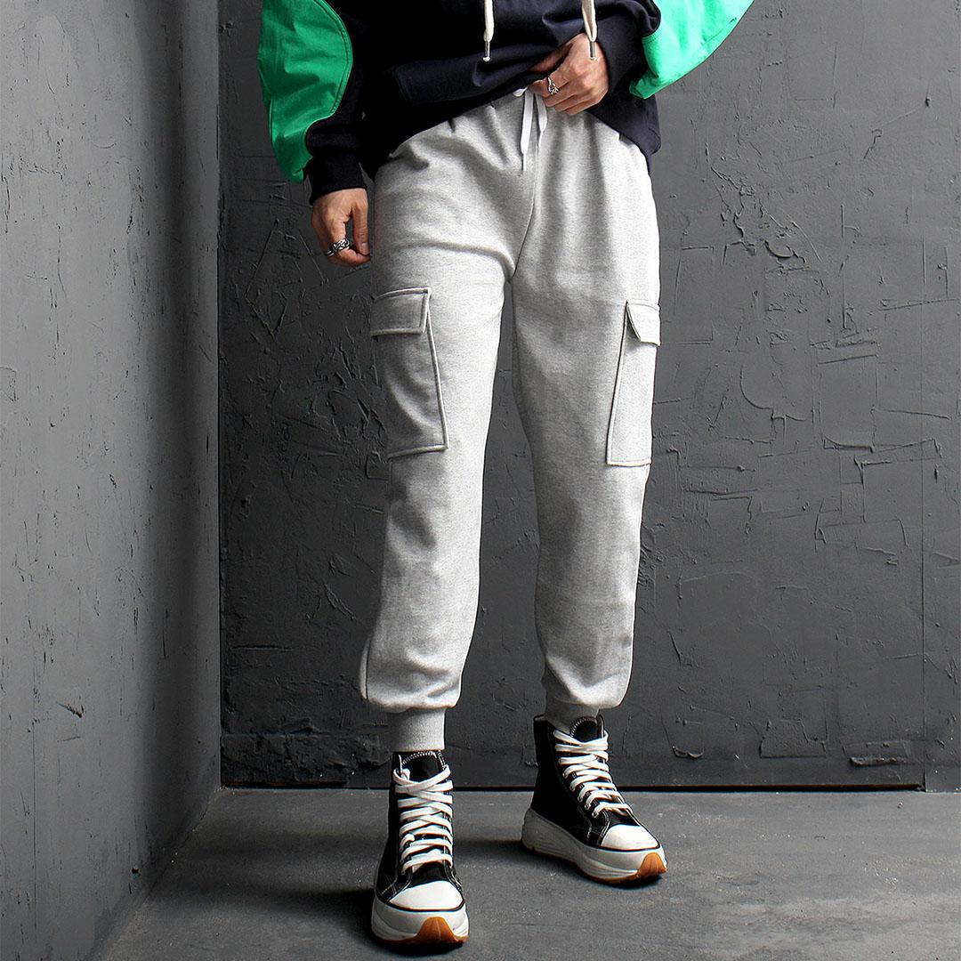 Cargo Pocket Gym Wear Jogger Pants 916