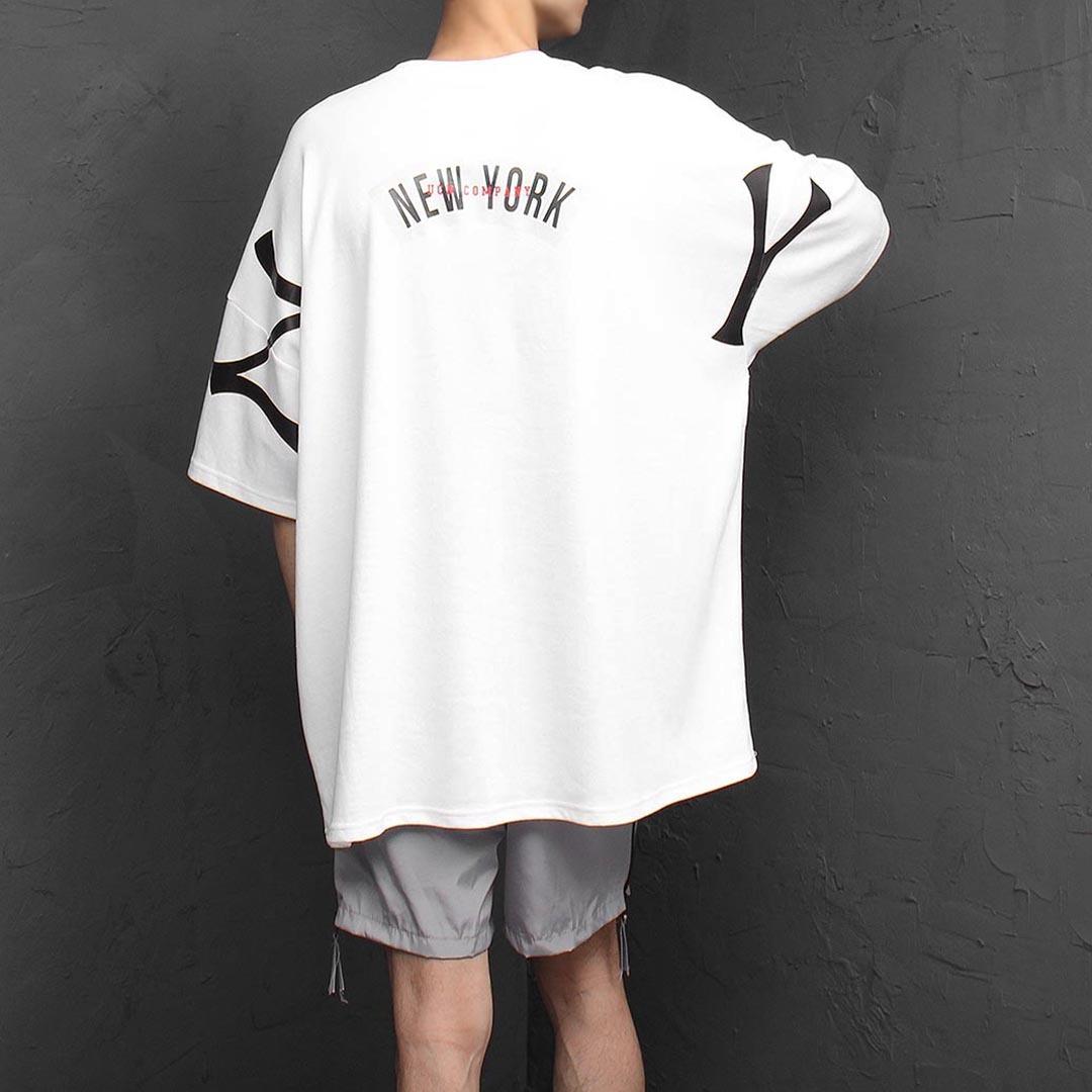 Oversized Fit New York Short Sleeve Tee 1310