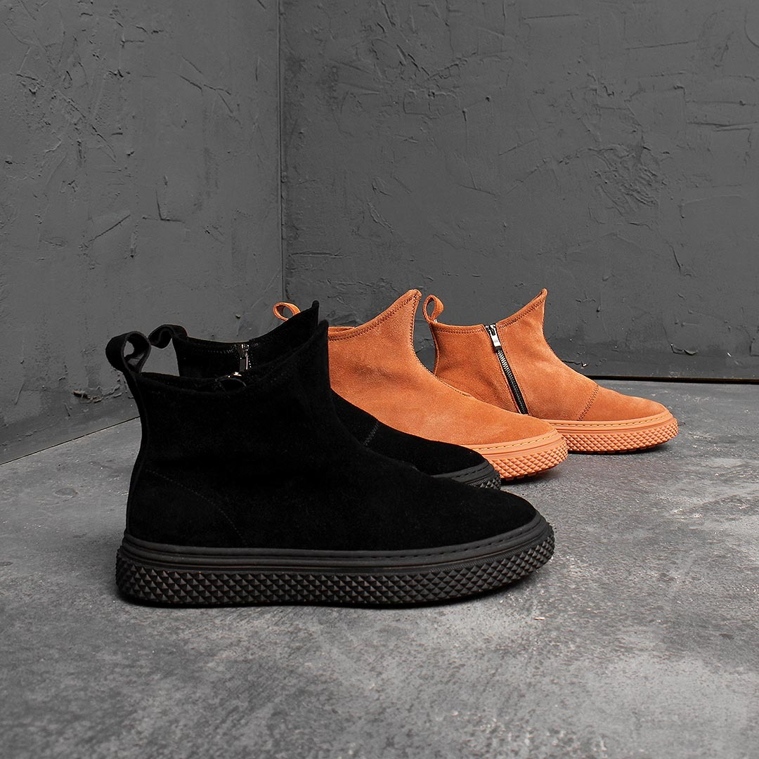 Suede Ankle Boots 1515