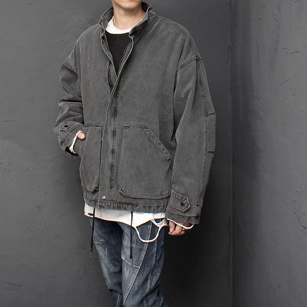 Oversized Fit Vintage Jacket 1617