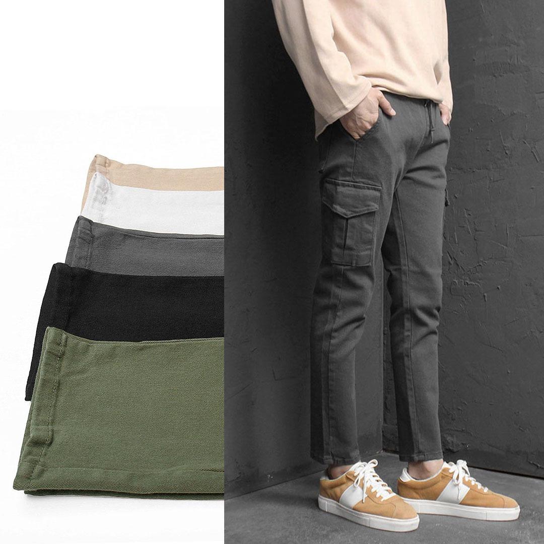Slim Fit Stretchable Cargo Pants 1961