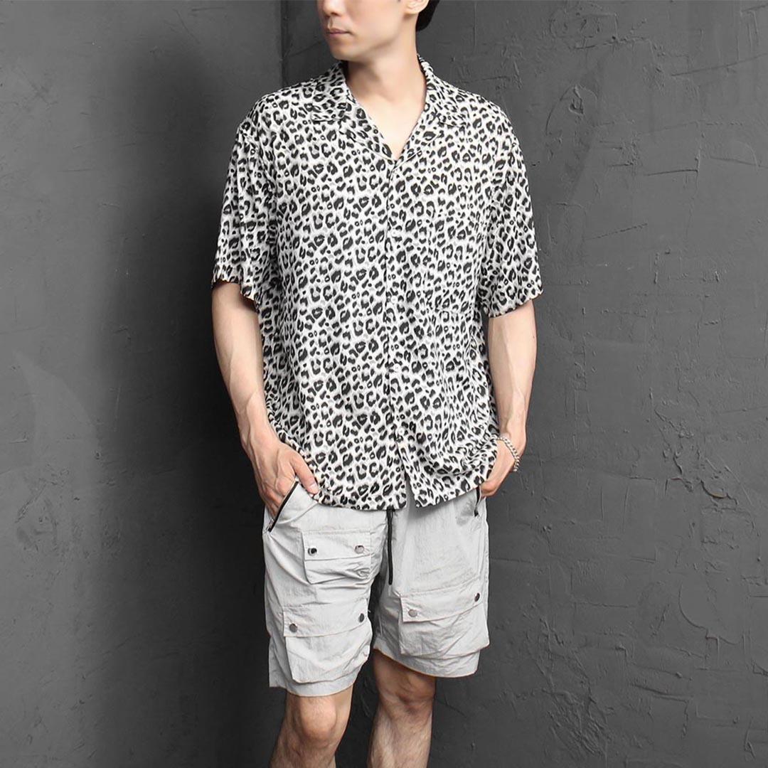 Leopard Pattern Summer Cool Shirt 2399