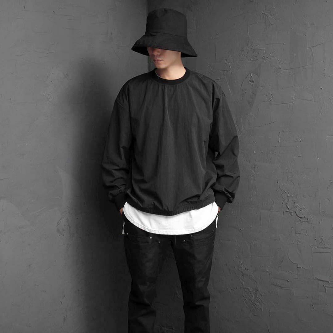 Black Wind Breaker Sweatshirt 2460