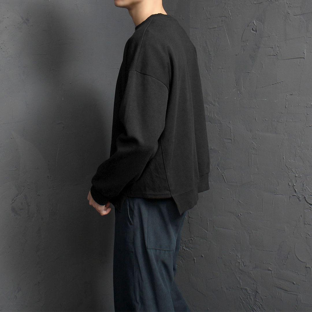 Loose Fit Split Side Sweatshirt 1779