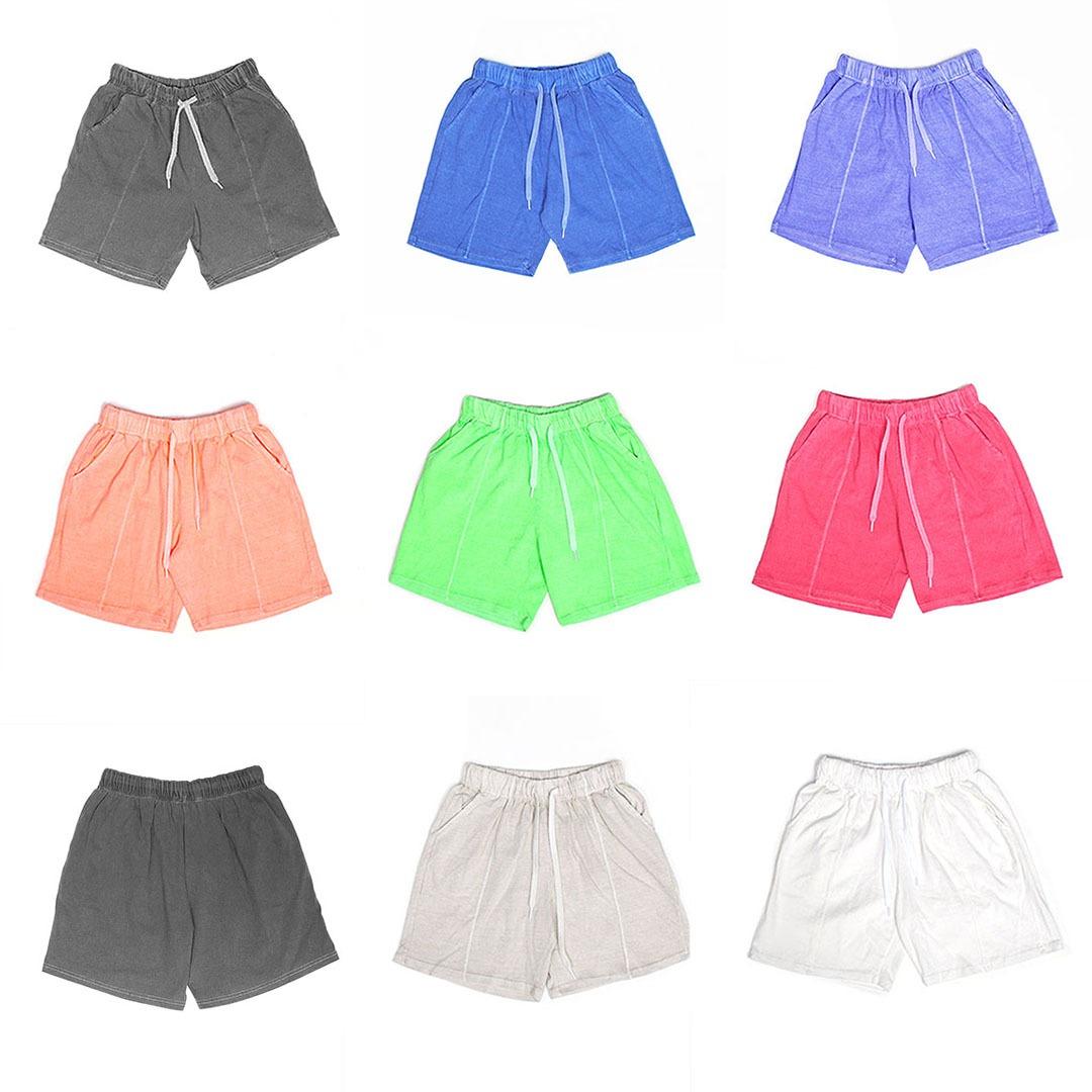 Vintage Pigment Washed Short Sweatpants 1035