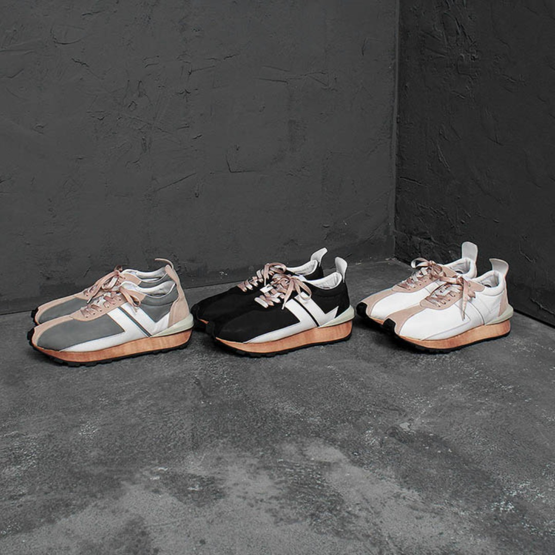 Suede Leather Runner Sneakers 2320
