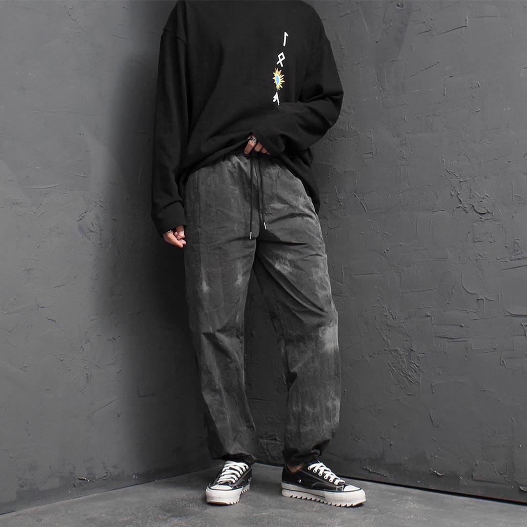 Tie Dye String Jogger Pants 2428