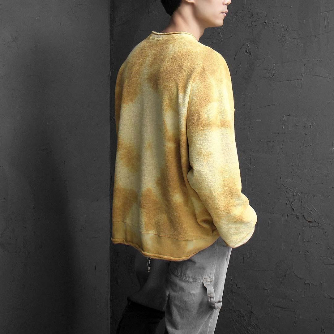 Oversized Fit Tiedye Reversed Sweatshirt 1984