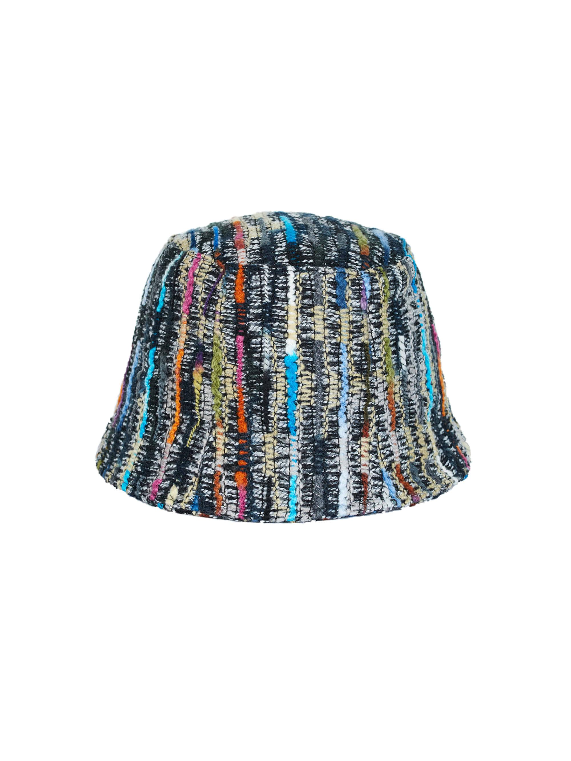 ● 3차 리오더 ●COLORFUL KNIT BUCKET HAT (BLUE)