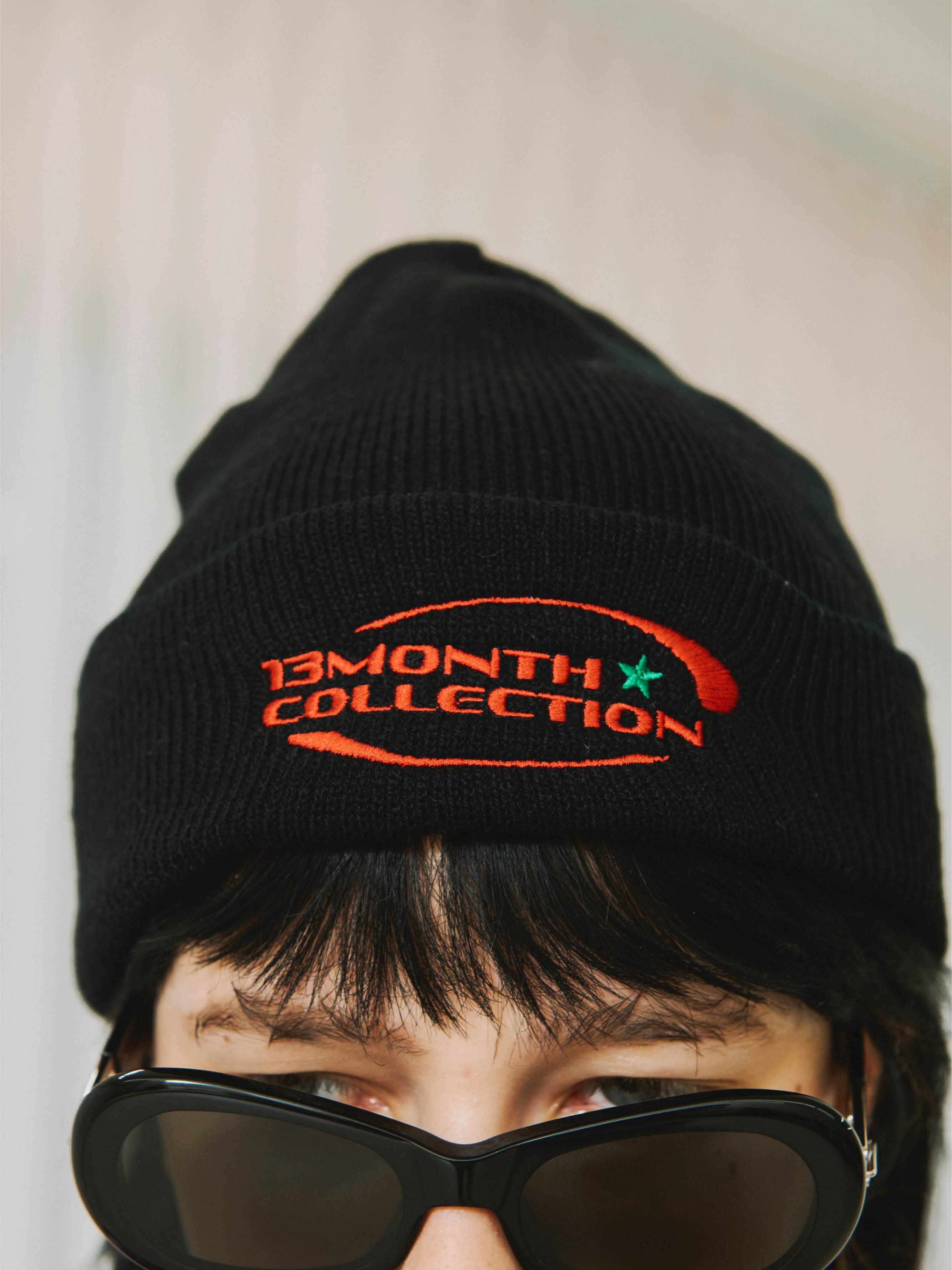 [Ship date: 9/17] 13M COLLECTION BEANIE (BLACK)