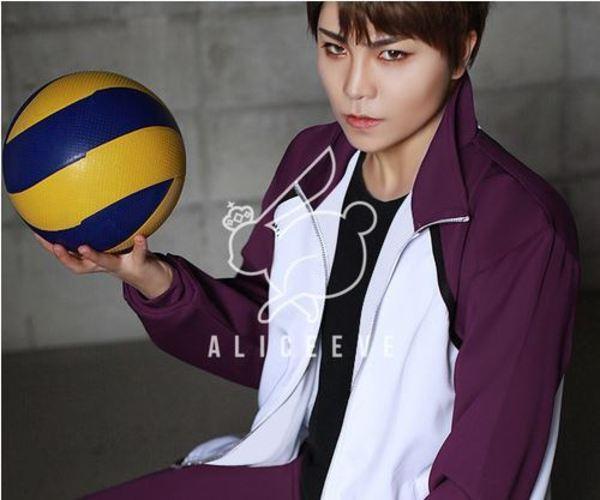 Haikyuu-!! Shiratorizawa High quality Cosplay Jersey SET