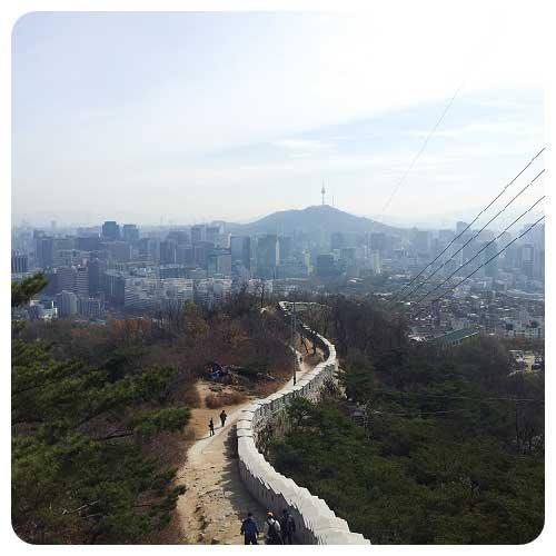 mountain of Seoul