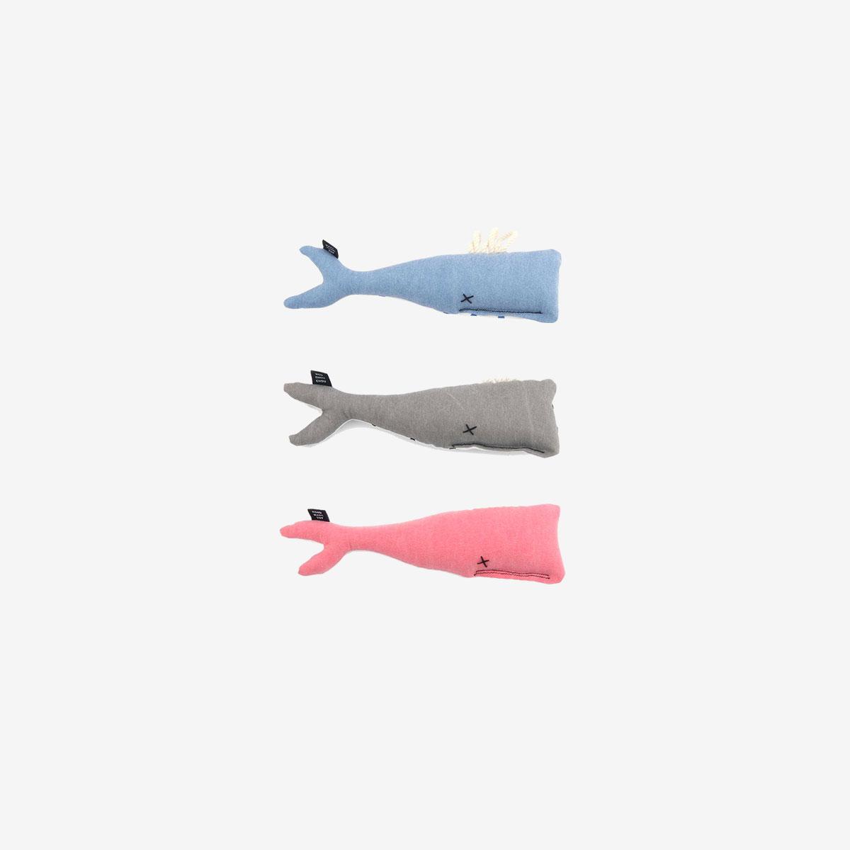 몽슈슈 MONCHOUCHOU Whale Toy