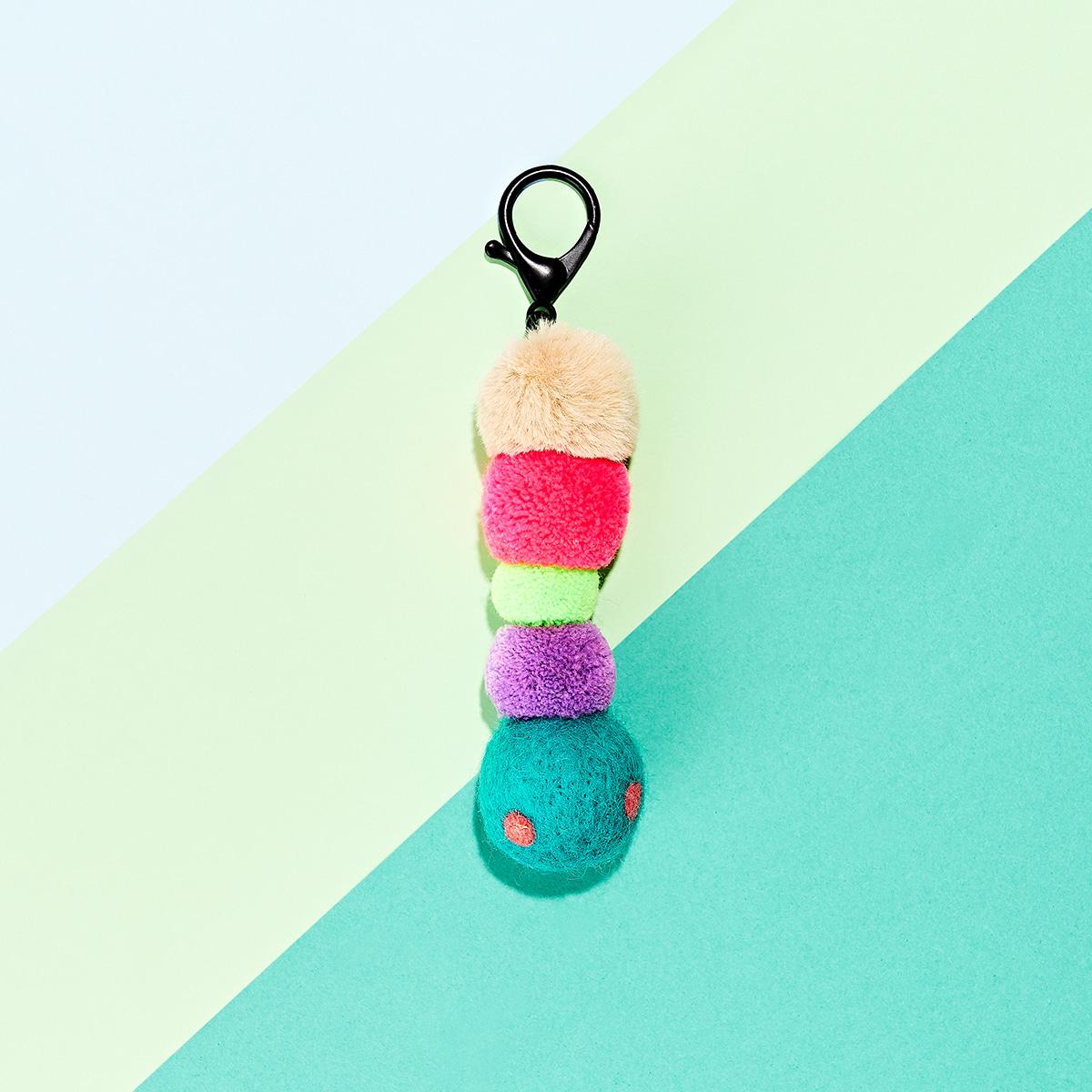 이즈베럴 꼬물꼬물 애벌레 (Lovely Bag Charm)