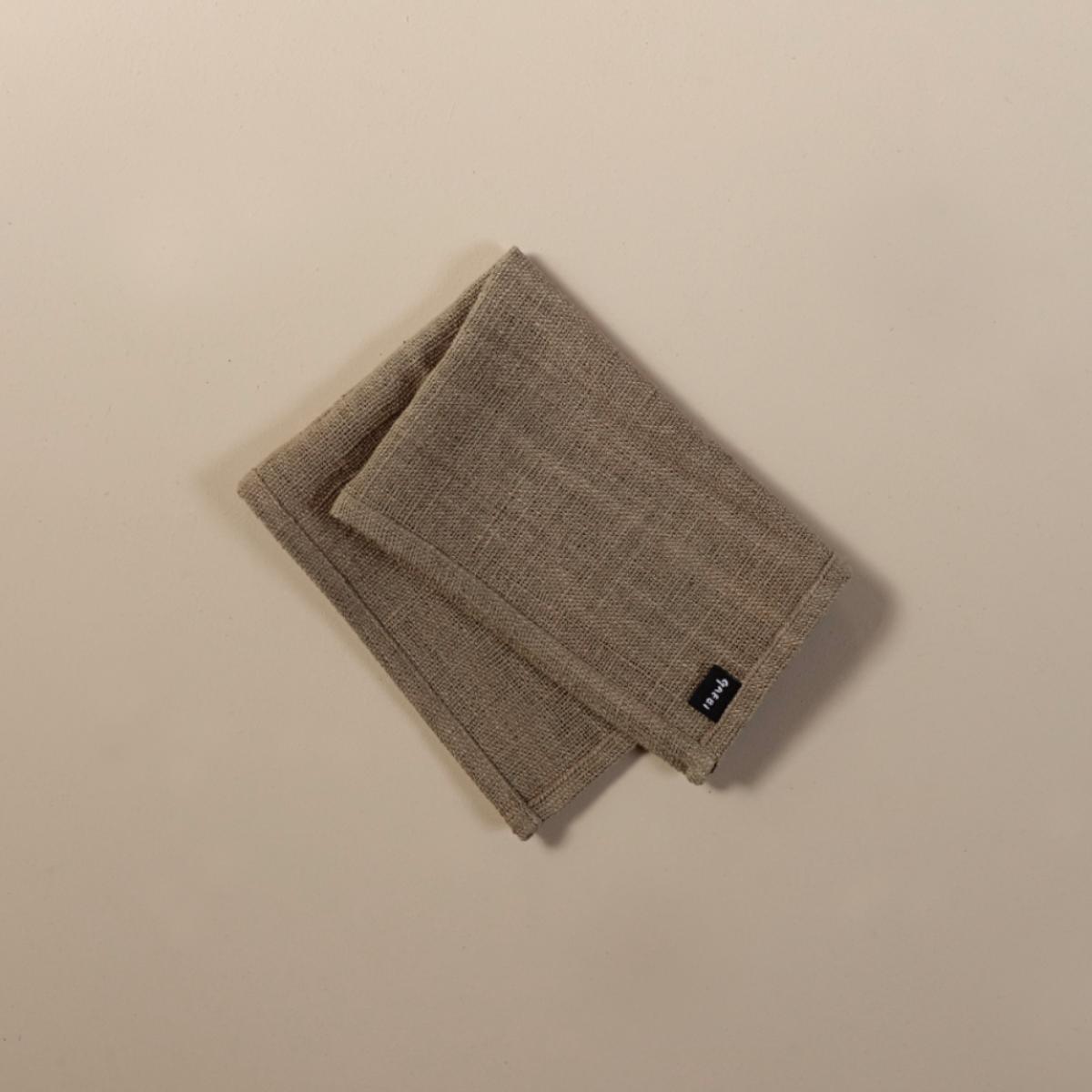 개비 Hand-woven Placemat_Guava Grey