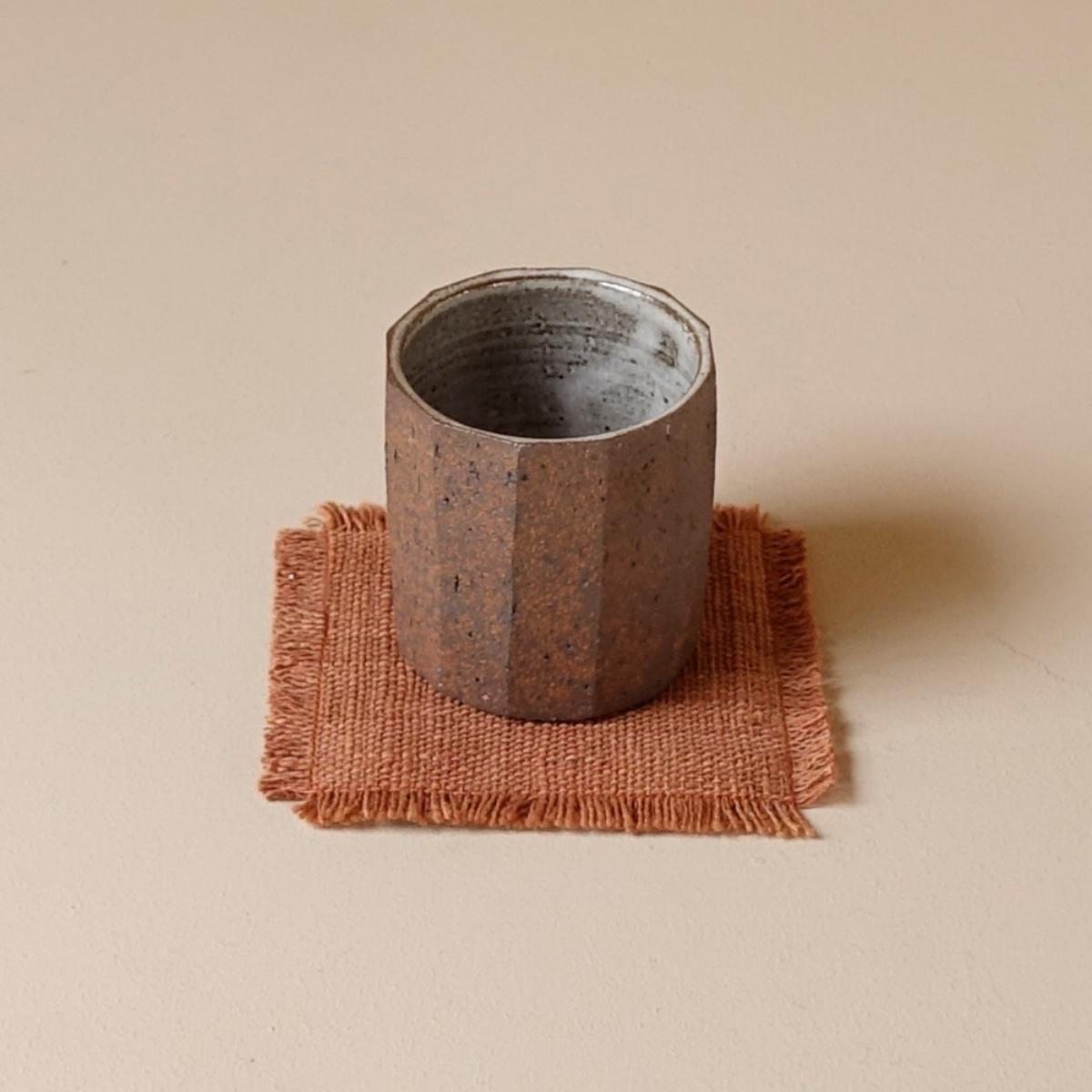 개비 Hand-woven Coaster (Fringe)_Redtaro