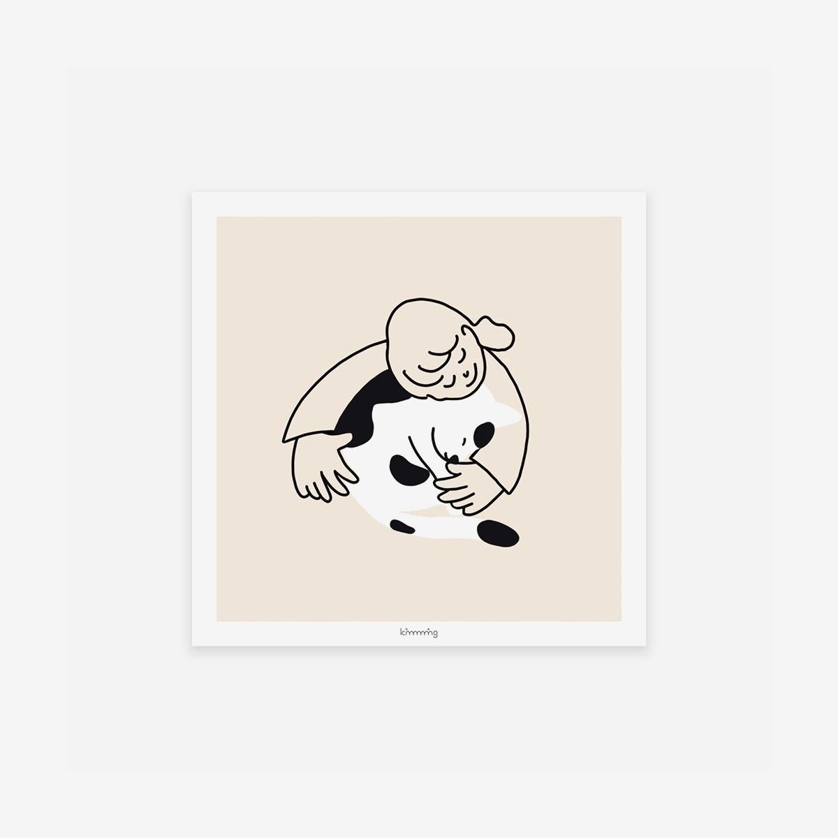 [킴밍스튜디오] HUG ME poster
