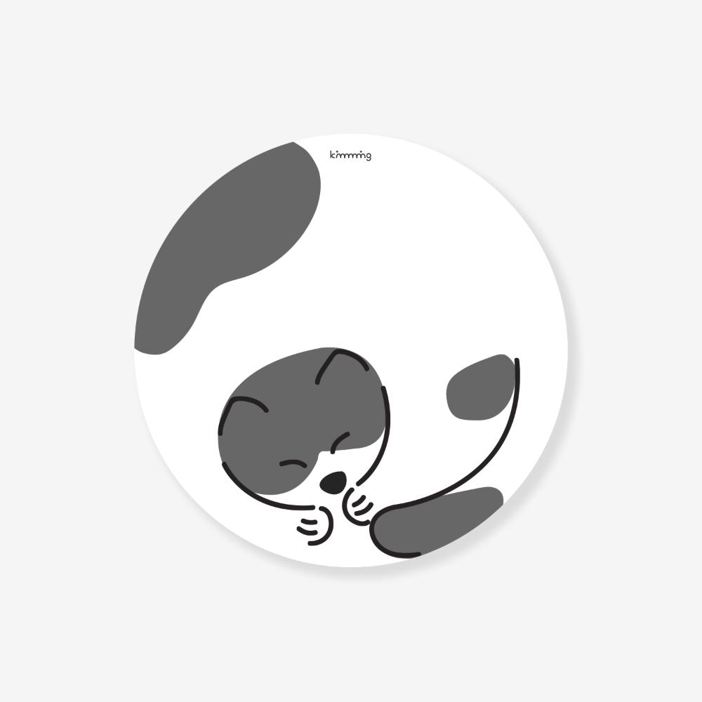 [킴밍스튜디오] SLEEPY CAT mousepad