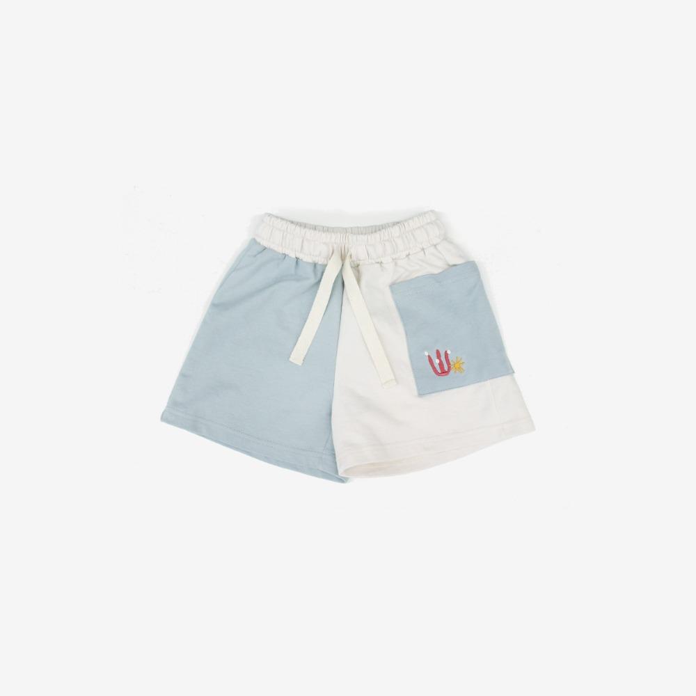 밤블루 Marine Beach Shorts