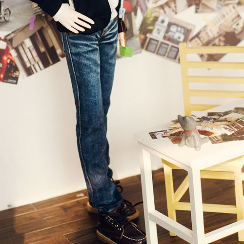 SD13 Boy Washing Slim Jeans - Blue