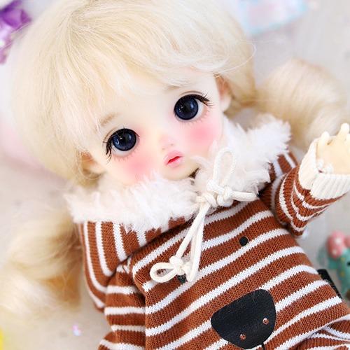 16CM Fur Baby Suit - R.Brown