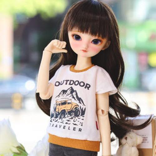 MSD & MDD Outdoor T-shirt - Mustard