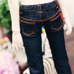 SD13 Boy Real Skinny Jeans - Black