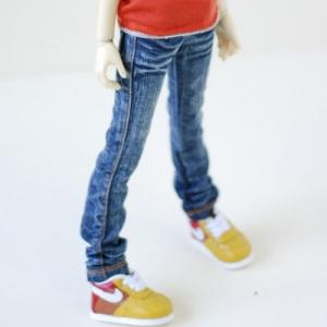 MSD Washing Basic Slim Jeans - Blue