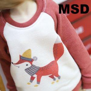 MSD Winter Fox MTM - Red