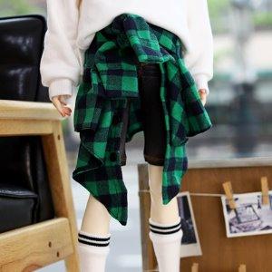 SD17 & SD13BOY & SD13Girl Layered Shirt - Green