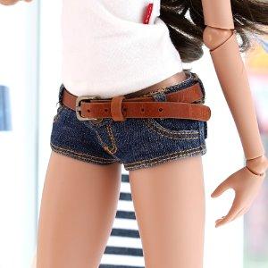 SD13 GIRL & Smart Doll Belt Short Pants - Blue