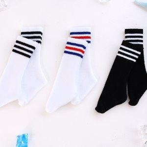 MSD Three Line Sock - Middle